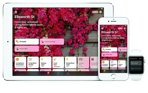 HomeKit App auf iPad, iPhone und Apple Watch