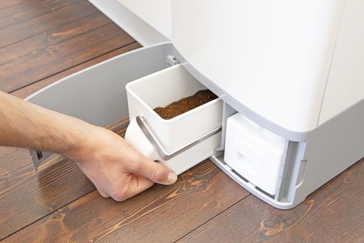 Mit dem KALEA Komposter kann der jährliche Methanausstoß verringert werden