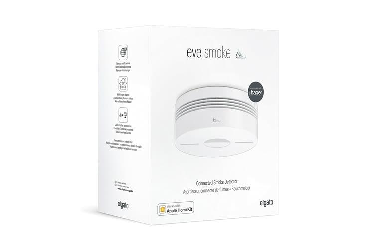 Elgato Eve Smoke Rauchmelder lassen sich miteinander synchronisieren