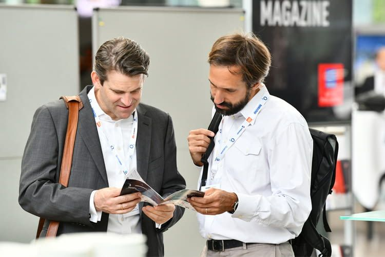Auf der Messe können Interessierte schon jetzt die Technik der Zukunft erleben