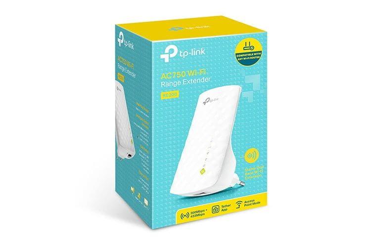 TP-Link RE200 ist nicht der schnellste Dualband WLAN-Repeater, bietet aber ein gutes Preis-Leistungsverhältnis