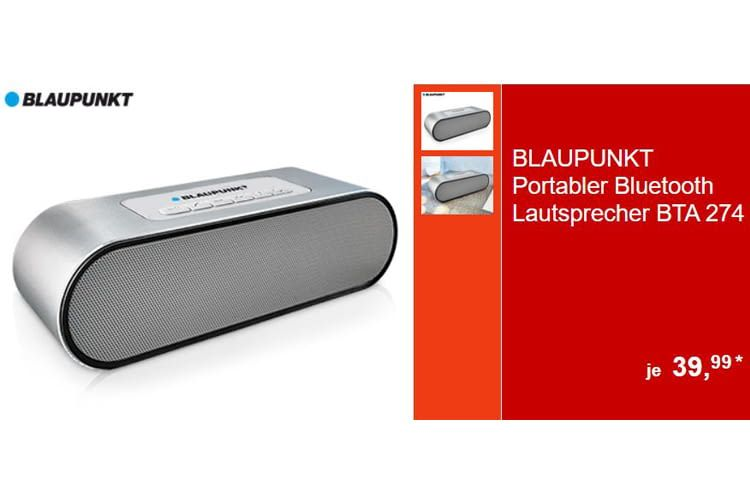 Der kleine Bluetooth-Lautsprecher ist eine gute Option zum Mitnehmen
