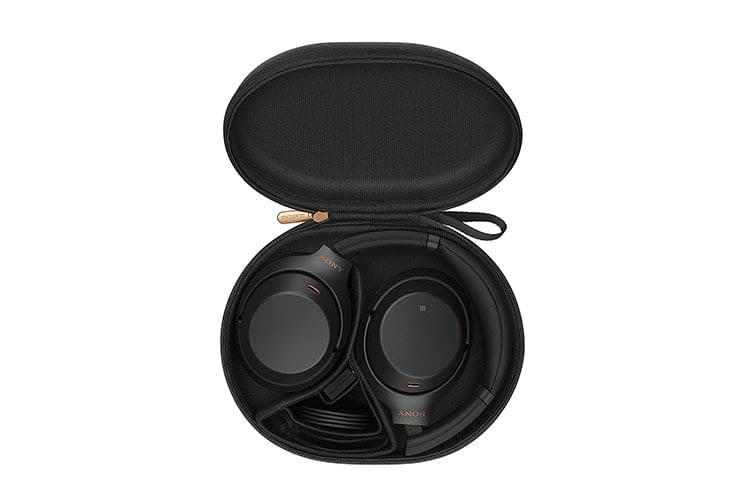 Kommt mit Reise-Case: Active Noie Cancelling Kopfhörer Sony WH-1000MX3
