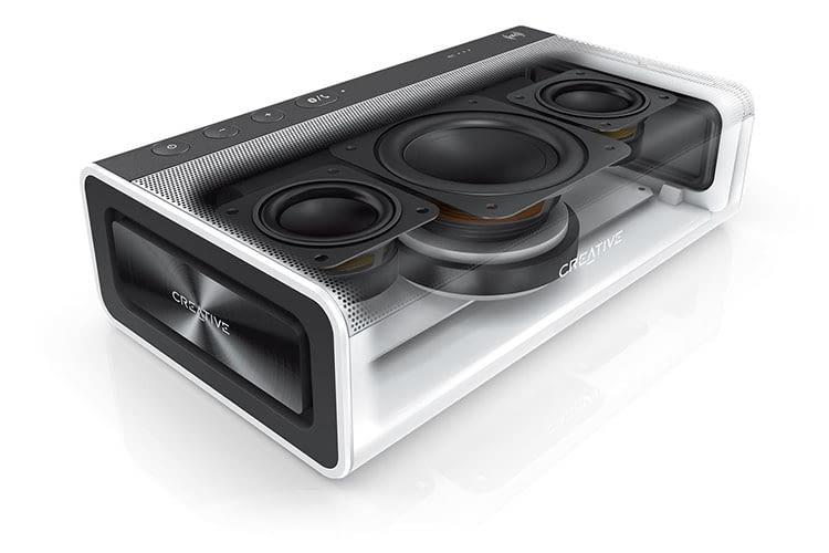 Creative Sound Blaster Roar 2 verfügt über fünf Lautsprecher