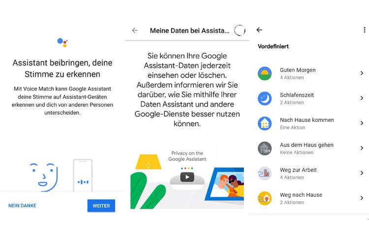 Die Google Home App verfügt über zahlreiche Anpassungsmöglichkeiten durch die Nutzerstimme, Datensicherheit und Google Abläufe