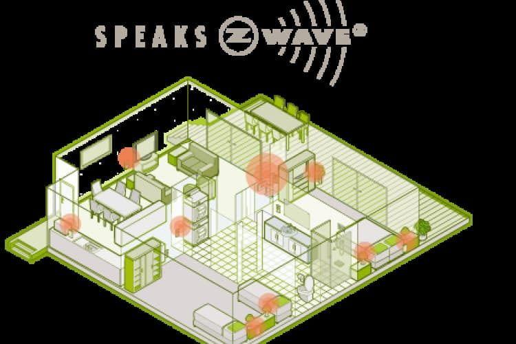 tapHOME nutzt die Z-Wave Funktechnologie