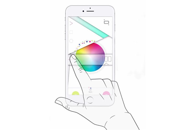 Per Qoobi Smartphone App lassen sich Röhrentemperatur und Hintergrundbeleuchtung ändern