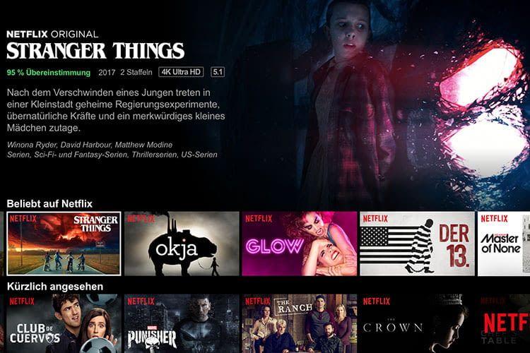Per Google Home und Sprachbefehle durch das Netflix-Programm zappen