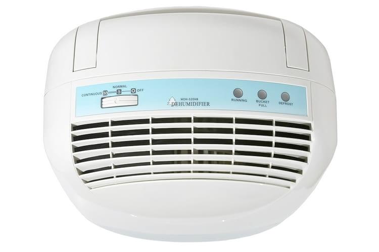 Bemängelt wurde bei WDH-520HB die fehlende Luftfeuchtigkeitsanzeige
