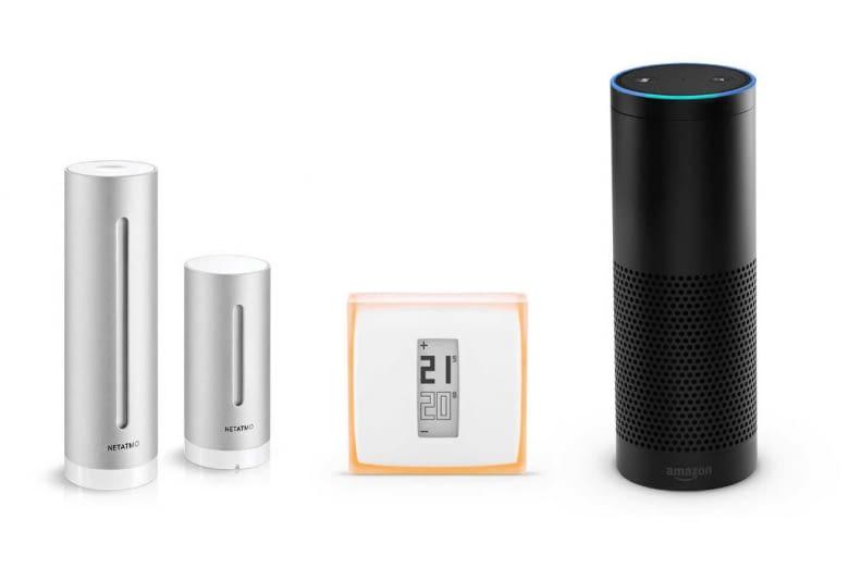 Das Netatmo System ist mit Sprachassistentin Alexa kompatibel