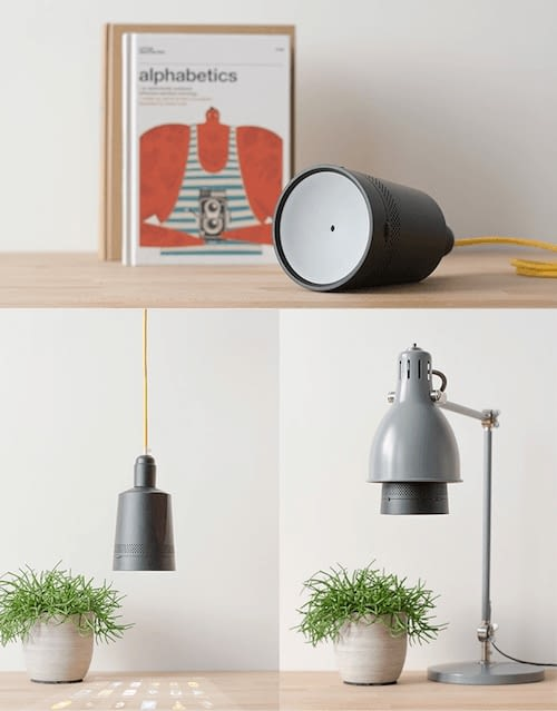 Foto vom Beam Projektor inkl. eingebaute Lautsprecher