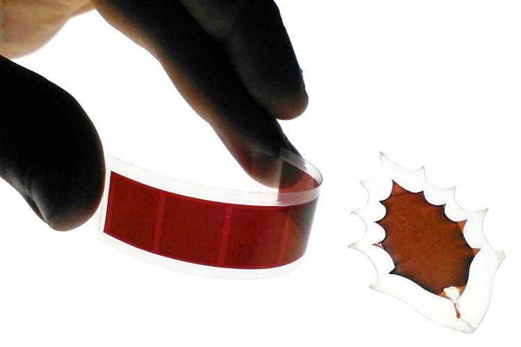 Die gedruckten PV-Filme sind in allen Farben und Formen möglich