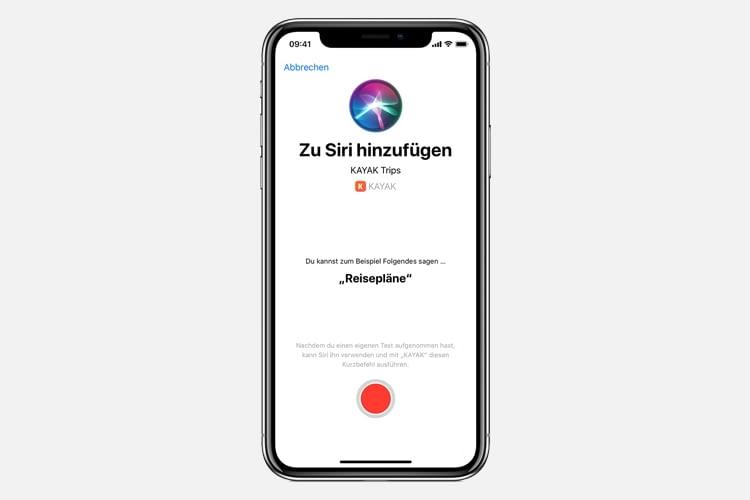 Per Siri-Shortcut lassen sich auch Fahrzeiten abfragen