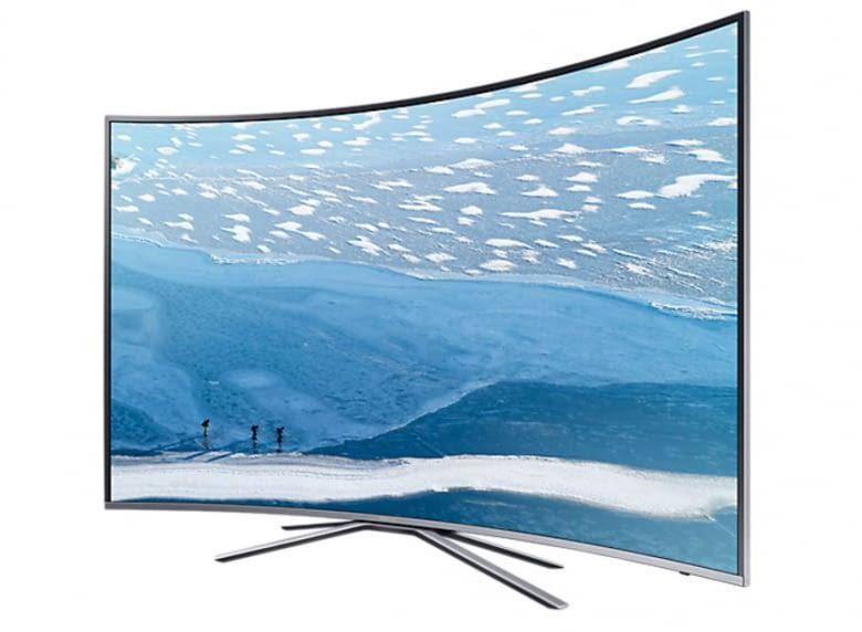 Es kommt 3D-Feeling auf: Der Samsung Curved UHD TV UE49KU6509
