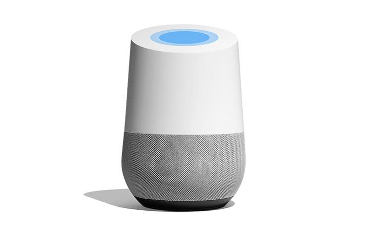 Googles intelligenter Google Home bietet einen einfachen Einstieg ins Smart Home
