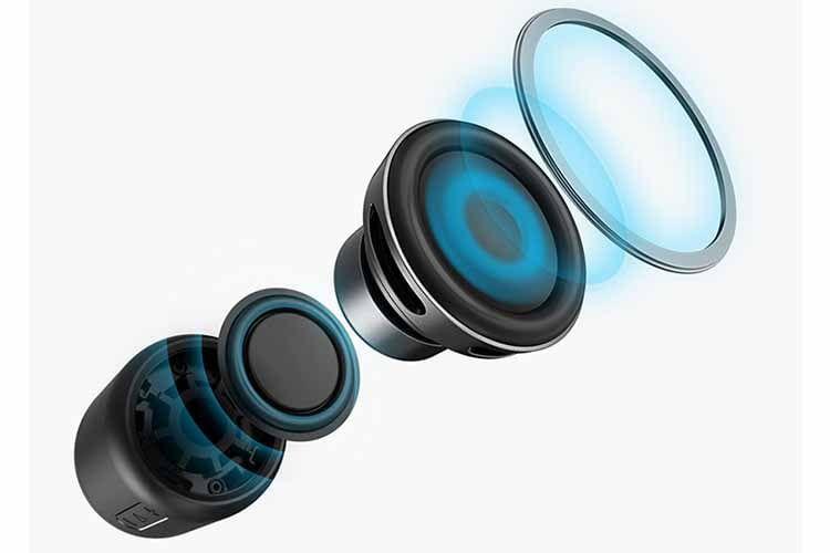 Der Bluetooth-Lautsprecher ANKER Soundcore Mini schafft eine Audiolautstärke von bis zu 5 Watt