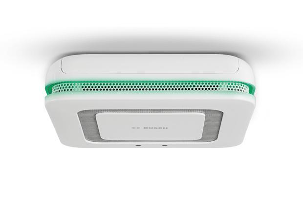 Twinguard - Rauchwarnmelder mit Luftgütesensor von Bosch Smart Home