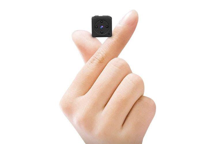 Die Mini Kamera MHDYT 01 lässt sich von Nachwuchs-Agenten gut verstecken