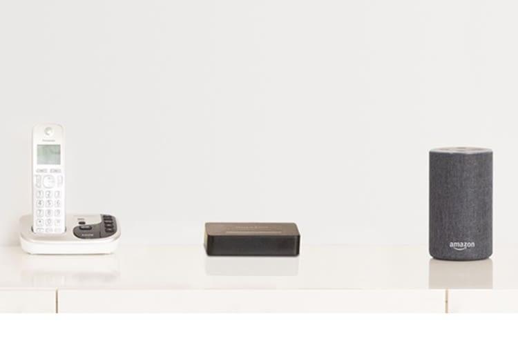 Amazon Echo Connect ist die Schnittstelle zwischen Echo und Festnetzanschluss