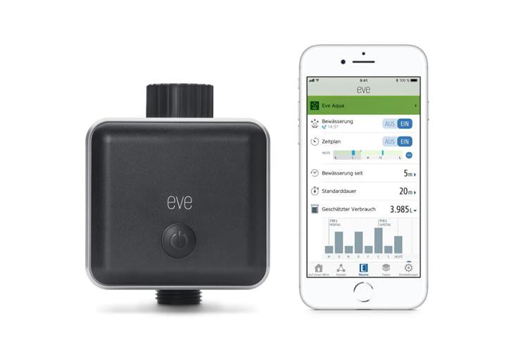 Dank Eve Aqua wird auch ein herkömmlicher Wasseranschluss smart