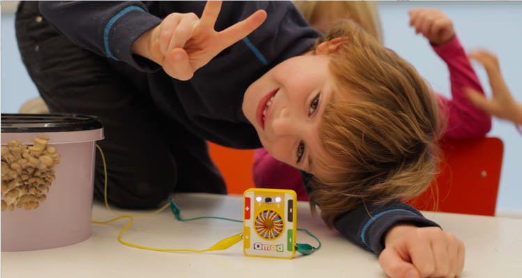 Qmod macht Spaß und schärft das Energiebewusstsein von Kindern wie Jugendlichen