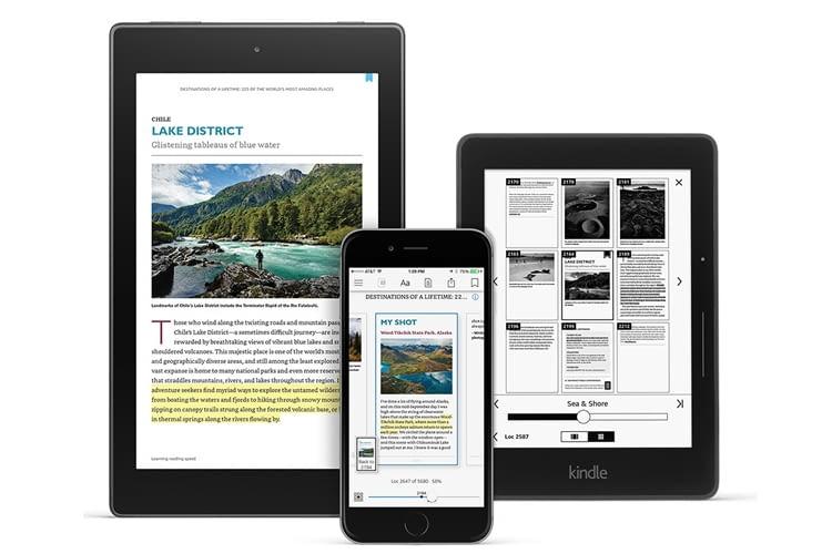 Mit der Kindle-App und Kindle Unlimited lassen sich etwa kostenlose Leseproben an Freunde verschicken