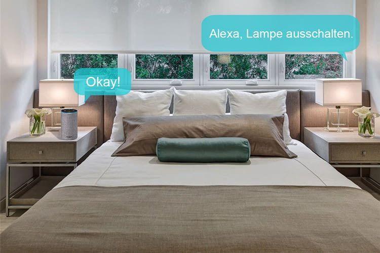 Verrenkungen im Bett zum Licht ausschalten sind dank sprachgesteuerter VIFLYKOO WLAN-Steckdosen unnötig