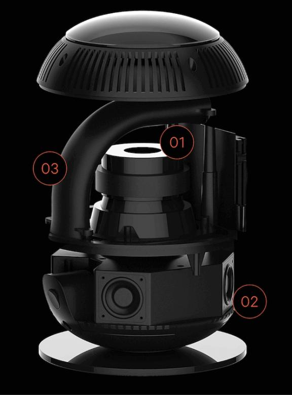 Aufbau des Whyd Multiroom-Lautsprechers