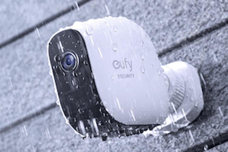 Die eufyCam Überwachungskameras sind Wasserfest und für den Outdoor-Einsatz auch bei Regen geeignet