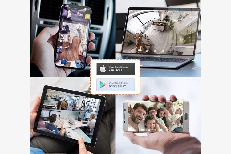 Mehrere Nutzer können gleichzeitig von unterschiedlichen Geräten auf die Kamerabilder zugreifen