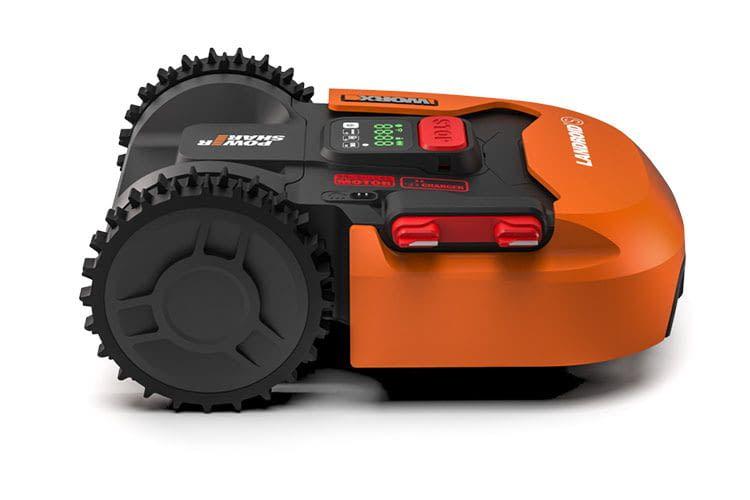 Der Mähroboter Worx Landroid S300 (WR130E) schafft eine Steigung von bis zu 35 Prozent