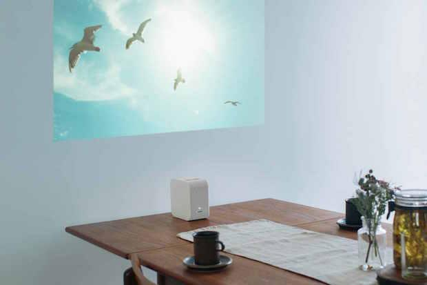 Life Space UX: 4K Ultra Short Throw Projector