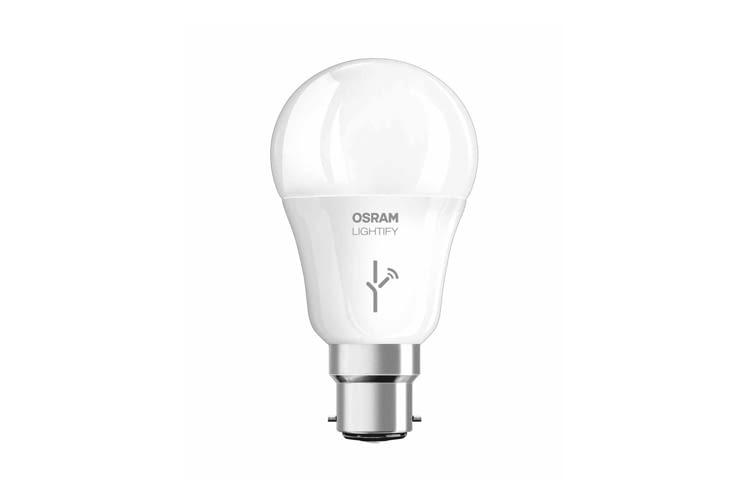 OSRAM LIGHTIFY Classic A LED Glühlampe hat 10 Watt und leuchtet warmweiß