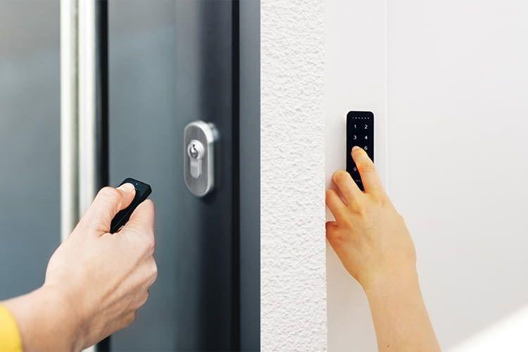 Das Nuki Smart Lock 2.0 lässt sich per Smartphone, Fob, Keypad oder Siri Sprachbefehlen bedienen