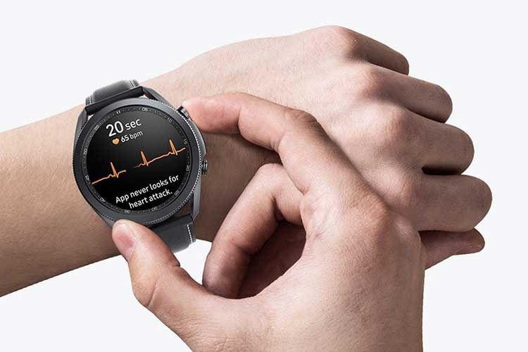Mit der Galaxy Watch 3 können Nutzer ein EKG anfertigen lassen - allerdings nicht für medizinische Diagnosen