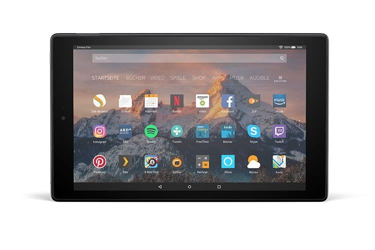 Ganze 50 Euro Rabatt: Amazon Fire Tablet 10 HD bietet Entertainment und Sprachsteuerung mit Alexa