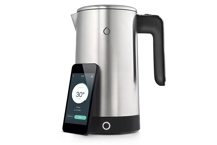 Der iKettle Wasserkocher kommuniziert mit anderen Smart Home-Geräten