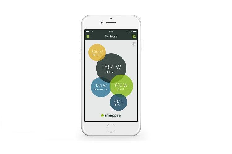 Zeigt Energiefresser an: Die Smappee-App
