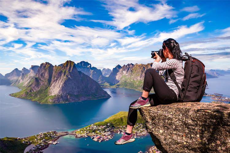 Reisekameras sollten besonders leicht und kompakt sein