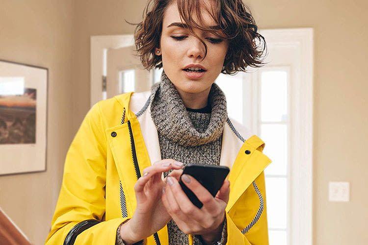 Über das Smartphone lassen sich die von Eve Degree erfassten Daten einfach und unkompliziert einsehen