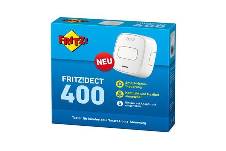 Der FRITZ!DECT 400 Funkschalter ist 5,2 x 5,2 x 2,4 cm groß und inkl. Antennen 51 g schwer