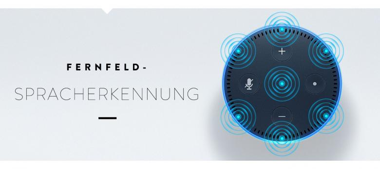 Amazon Echo Dot mit Spracherkennung