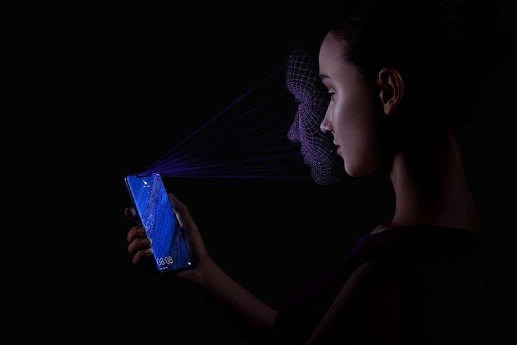 HUAWEI Mate20 Pro erlaubt die Entsperrung via Gesichtserkennung