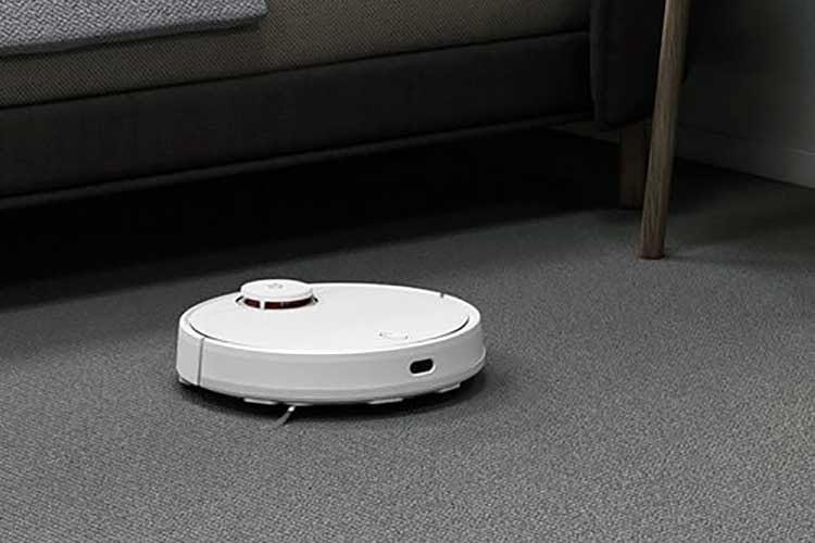 Auch auf Teppichböden ist Xiaom Mijia STY02YM in seinem Element