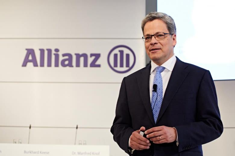 """Der Vorstandsvorsitzende der Allianz Versicherungen, Manfred Knof, betont: """"Diese Initiative bietet uns die Perspektive, höchste Sicherheitsstandards auf digitale kundenzentrierte Finanzdienstleistungen zu übertragen."""""""