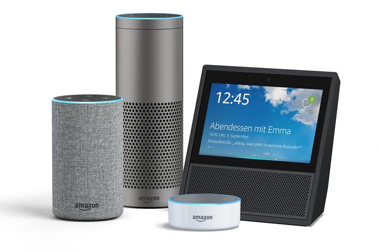 Alle Echo-Geräte sind auf eine gute Netzanbindung angewiesen