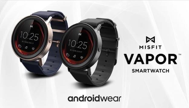 Sportlich und klassisch gleichzeitig: Misfit Vapor Smartwatch