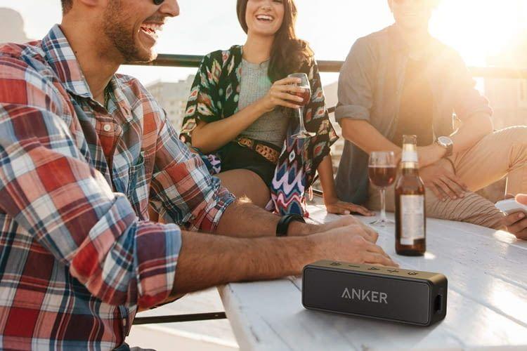 Der wasserfeste Anker SoundCore 2 Lautsprecher wurde von Käufern mit 4,6 von 5 Sternen bewertet