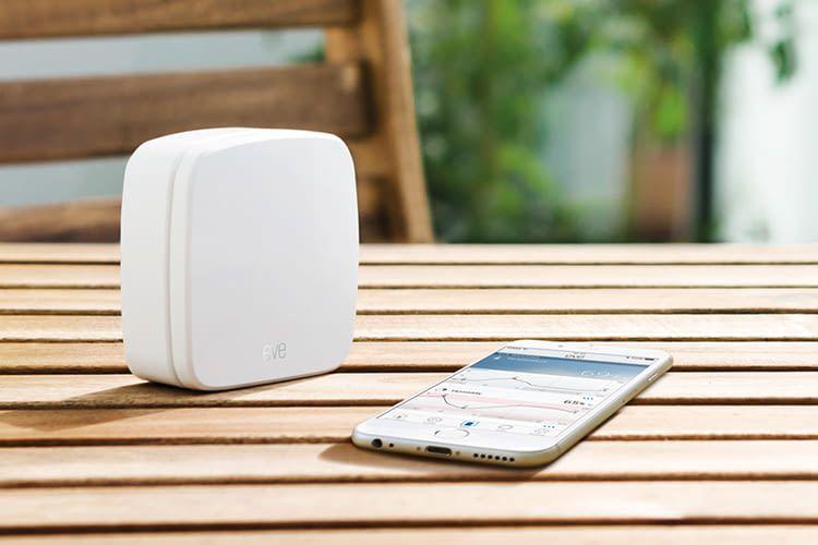 Elgato Eve Weather - der Außensensor für Ihr Smart-Home-System