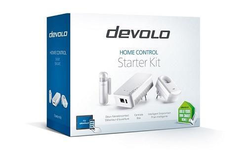 Im devolo HomeControl Starter Kit ist alles enthalten, was Smart Home Einsteiger brauchen